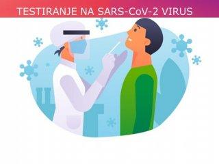 Testiranje na virus SARS-CoV-2