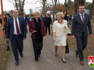 Posjet Predsjednice Kolinde Grabar-Kitarović Daruvaru